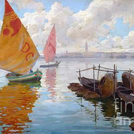 Enrique Simonet - Venetian marine