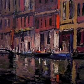 R W Goetting - Venice at dusk