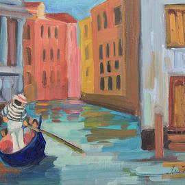 Venice Gondolier 2 - Diane McClary