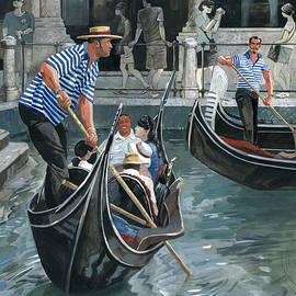 Igor Sakurov - Venice. Il Bacino Orseolo