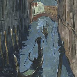 Igor Sakurov - Venice. Ponte dei Sospiri in Twilight