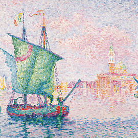 Venice, The Pink Cloud - Paul Signac