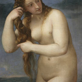 Venus Rising from the Sea - Titian