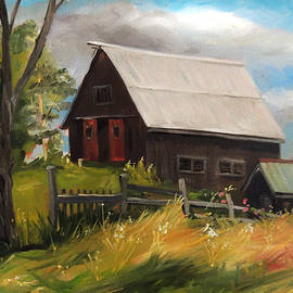 Nancy Griswold - Vermont Barn