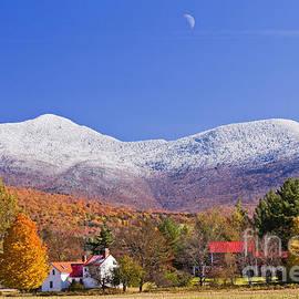 Alan L Graham - Vermont October Moonrise