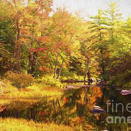 Jan Tyler - Vermont Pond in Autumn