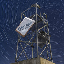 Andy Gimino - Vermont-Star trails-Tower-night-winter
