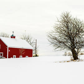 Alan Brown - Vermont Winter Barn