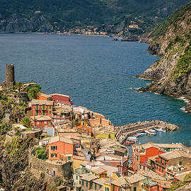 Joan Carroll - Vernazza Cinque Terre Italy
