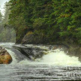 Myrna Bradshaw - Verney Falls, British Columbia