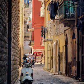 Jennie Breeze - Vespa in Bari.Italy