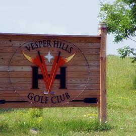Thomas Woolworth - Vesper Hills Golf Club Tully New York Signage