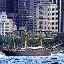 Miroslava Jurcik - Vessel From Bygone Age Still Sailing Sydney