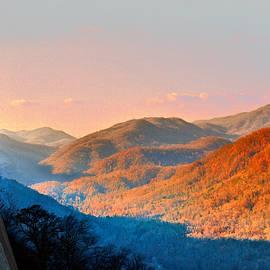 Steve Karol - View from Chimney Rock-North Carolina