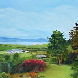 Jeannie Allerton - View from Slate Row, Carrigart, Donegal, Ireland