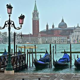 Frozen in Time Fine Art Photography - View from San Marco Square 2015