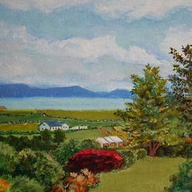 Jeannie Allerton - View From Slate Row, Carrigart, Donegal, Ireland, Second Version of Painting