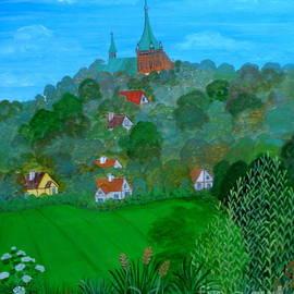 Anna Folkartanna Maciejewska-Dyba  - View from the Cemetery Hill