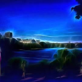 Mario Carini - View of Gatineau Across the River