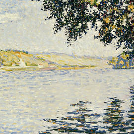 View of the Seine at Herblay - Paul Signac