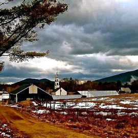 Elizabeth Tillar - Village After a Rainstorm