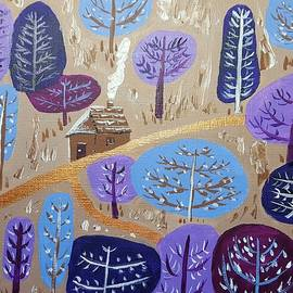 Gail Friedman - Village in snow