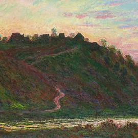 Village of La Roche-Blond, effect of the evening - Claude Monet