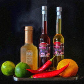 Dean Wittle - Vinegar Oil Fruit and Peppers