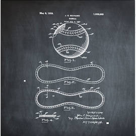 Bill Cannon - Vintage 1928 Baseball Patent Chalk