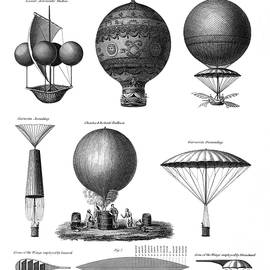 Vintage Aeronautics - Early Balloon Designs - War Is Hell Store