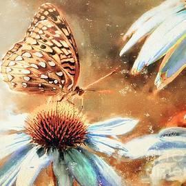 Tina LeCour - Vintage Butterfly Print
