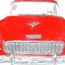Vintage Chevy Painting Mug - Edward Fielding