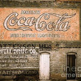 Ashley M Conger  - Vintage Coca-cola Mural