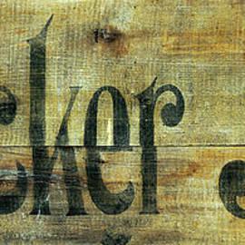 Vintage Cracker Jack Sign - Jon Neidert