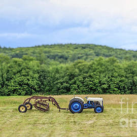 Vintage Ford Tractor Tilt Shift - Edward Fielding
