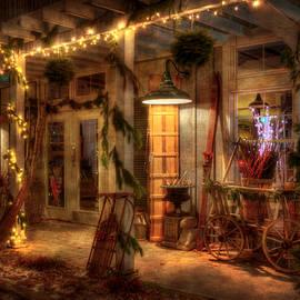 Joann Vitali - Vintage Holiday Storefront