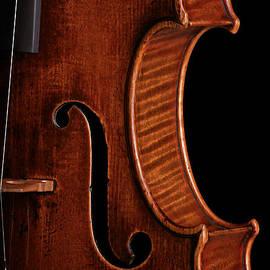 John Stephens - Vintage Mahogany Violin Detail