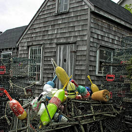 Mike Martin - Vintage New England Fishing Shack