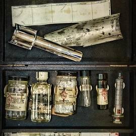 Vintage Post Mortem Fingerprint Kit