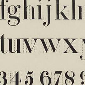 Vintage Roman Analytical Font - English School