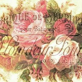 Tina LeCour - Vintage Rose Print