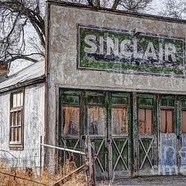 Gary Whitton - Vintage Rural Gas Station - Elberta Utah