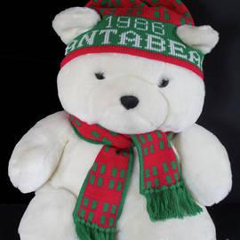 Vintage Santa Bear