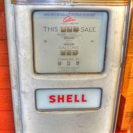 Linda Covino - Vintage Shell gas pump