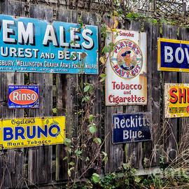 Adrian Evans - Vintage Signs