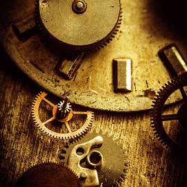 Vintage watch parts - Jorgo Photography - Wall Art Gallery