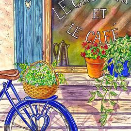 Irina Sztukowski - Vintage Window Le Cafe