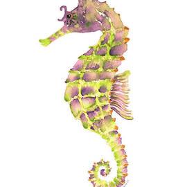 Violet Green Seahorse - Amy Kirkpatrick