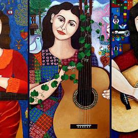 Madalena Lobao-Tello - Violeta Parra collage