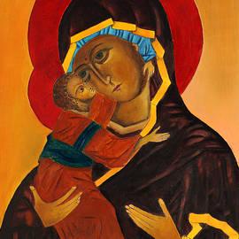 Magdalena Walulik - Virgin Mary with Baby Jesus